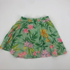 🍒 The Children's Place Floral Skort 5T